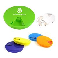 Round Rotate Pill Case