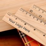 Custom Eco-Friendly Wooden Ruler