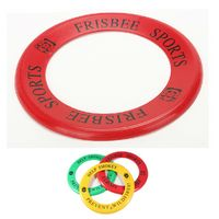 Ring Shaped Plastic Flying Disc