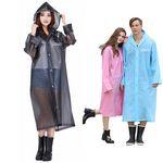 Custom Transparent EVA Rain Jacket