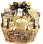 Custom A World Of Thanks Gift Basket