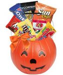 Custom Pumpkin Candy Basket