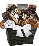 Custom Coffee & Cookie Basket (Brown)