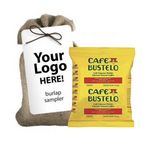 Custom Cuban Coffee in Jute Bag