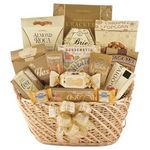 Custom Ultimate Basket of Golden Snacks