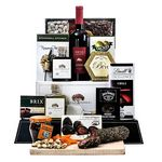 Custom Fabulous Feast Wine Basket