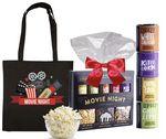 Custom Movie Night Candy Basket