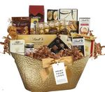 Custom Merry Christmas Gift Basket
