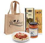 Custom Italian Dinner Gift Tote Promo