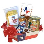 Custom Texas Theme Gift Basket