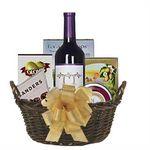 Custom Wine and Cheese Gift Basket