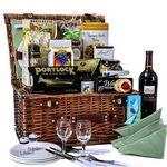 Custom Picnic in The Park Wine Basket