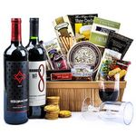 Custom Wine Gift Basket