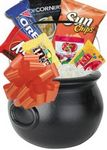 Custom Halloween Candy Basket (Black)