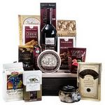 Custom Wine & Gourmet Gift Basket