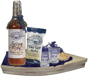 Bloody Mary Boat Basket