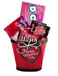Custom Valentine Sweets Gift Basket