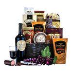 Custom Corporate Wine Gift Basket