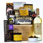 Custom Italian Wine & Gourmet Gift Basket