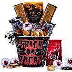 Custom Halloween Gourmet Chocolate Gift Basket