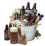 Custom Craft Beer Gift Basket