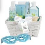 Custom Purple Passion Spa Gift Basket