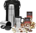 Custom Cocoa, Chocolate & Cookie Stainless Carry Case Kit