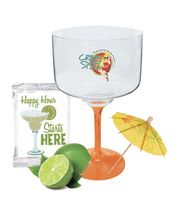 18 Oz. Margarita Light-Up Happy Hour (Blue)