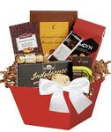 Custom World Traveler Gourmet Gift Basket