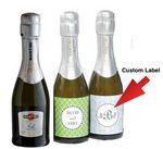 Custom Champagne Mini Favor Bottles (187 Ml.)