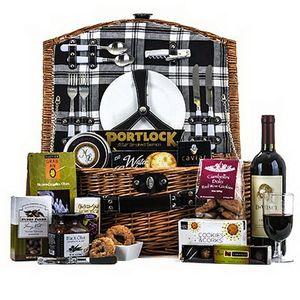 Wine & Gourmet Picnic Gift Basket