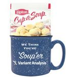 Custom Soup & Crackers Promo Gift Mug
