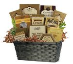 Custom Basket of Chocolates and Cookies