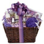 Custom Purple Passion Spa Basket