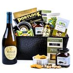 Custom Classic Corporate Wine Gift Basket