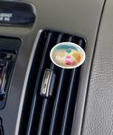 Custom Oval Vivid Vent Air Freshener