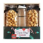 Custom Bottle + Caramel Corn Set Gift Crate