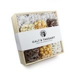 Chocolate, Pretzel + Caramel Corn Set Gift Crate