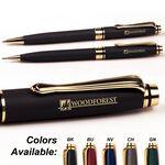 Impella™ Metal Twist Action Ballpoint Pen & Mechanical Pencil Set