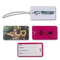 Luggage Tag with Transparent Strap (SALE PRICING)