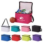 Insulated 6-Can Cooler Bag