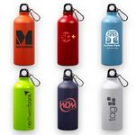 Custom 20 oz Matte Aluminum Sports Bottle