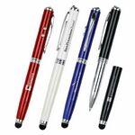 Custom Picard 4-in-1 LED Laser Pointer & Stylus Metal Ballpoint Pen