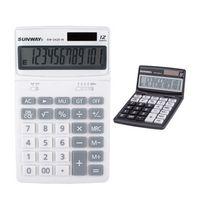 12 Digit Solar Powered Desk Calculator