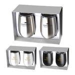 Custom Stainless Steel Stemless Wine Tumbler Gift Set