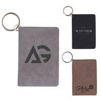 Leatherette Keychain Wallet