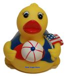 Custom All American Rubber Duck