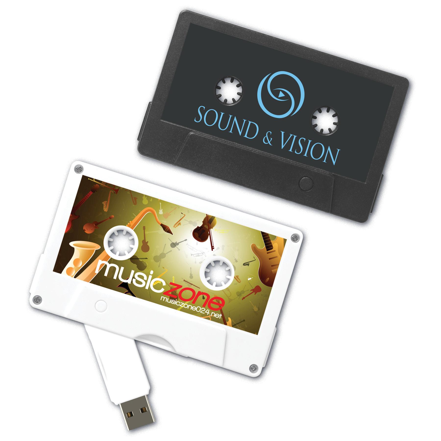 USB 2.0 MixTape Drive™ TA Cassette Tape Flash Drive (1GB)