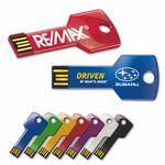 Custom Key Drive KC Classic Silver Key Look Flash Drive (512 MB)