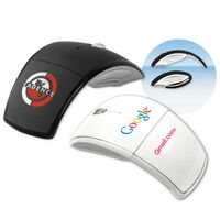 PowerMouse™ M88 Wireless Optical Folding Mouse